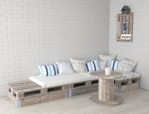 Pallets kopen voor pallet meubels – wat heb je nodig?