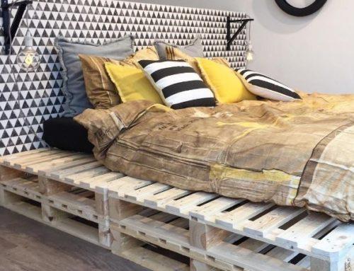Europallet bed